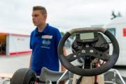 Tim Barbarski vor dem Rennen auf dem Odenwaldring, 05.07.2014
