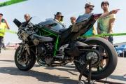 Kawasaki Ninja H2R bei den Odenwaldring Klassik 2015