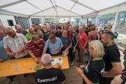 Toni Mang bei den Kawasaki Days 2015 in Schotten, Samstag 15. August 2015