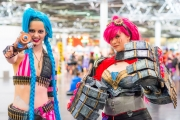 League of Legends Cosplay auf der Dokomi 2016 - Jinx und Vi