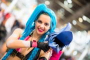 League of Legends Cosplay auf der Dokomi 2016 - Jinx