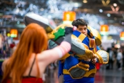 League of Legends Cosplay auf der Dokomi 2016 - Katharina, Garen