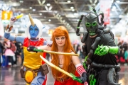 League of Legends Cosplay auf der Dokomi 2016 - Soraka, Katharina, Thresh