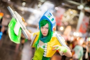 League of Legends Cosplay auf der Dokomi 2016 - Riven