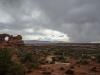 Drohendes Gewitter im Arches National Park