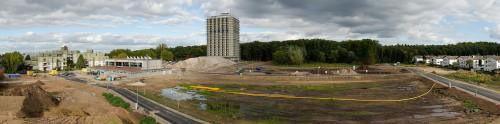 Abriss und Neubaugebiet in Dieburg