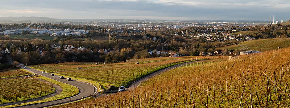 Sonnenuntergang über Heilbronn