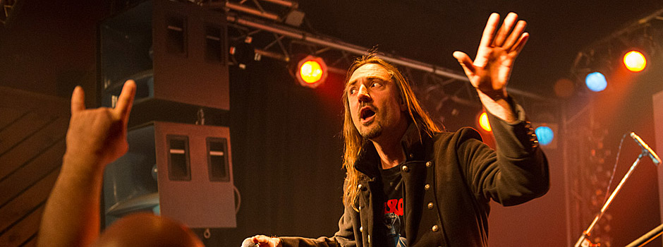 Crusader bei New Wave of British Heavy Metal in Weiher 2015