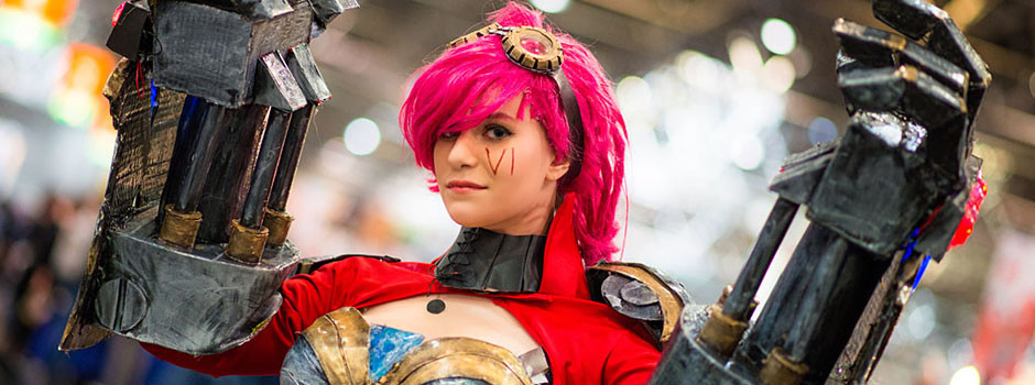 League of Legends Cosplay auf der Dokomi 2016