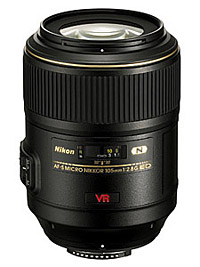 Geeignete Makroobjektive für Nikon: Nikon AF-S VR Micro 105mm 2.8G IF-ED
