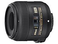 Geeignete Makroobjektive für Nikon: Nikon AF-S DX Micro 40mm 2.8G