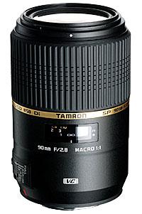 Geeignete Makroobjektive für Nikon: Tamron SP AF 90mm 2.8 Di VC USD Makro