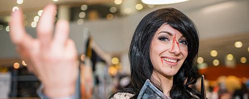 Deutsche Cosplay Meisterschaft auf der Frankfurter Buchmesse am Sonntag, 18. Oktober 2015