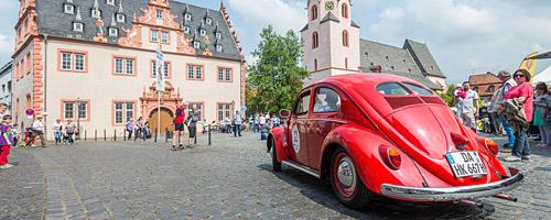 Oldtimer-Rallye Nibelungenfahrt 2014: Volkswagen Käfer Typ 10/11, Baujahr 1951