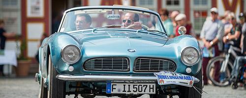 Oldtimer-Rallye Nibelungenfahrt 2014: BMW 507, Baujahr 1959