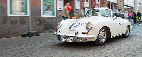 Oldtimer-Rallye Nibelungenfahrt 2014: Porsche 356 SC Cabriolet, Baujahr 1964