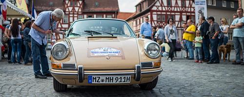 Oldtimer-Rallye Nibelungenfahrt 2014: Porsche 911, Baujahr 1968