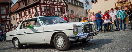 Oldtimer-Rallye Nibelungenfahrt 2014: Mercedes-Benz 250 CE /8, Baujahr 1969