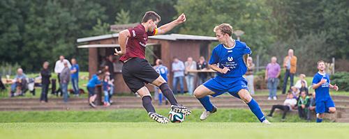 Spvgg Groß-Umstadt gegen SV Sickenhofen, 19. September 2014