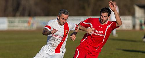 FV Eppertshausen gegen PSV Groß-Umstadt, 9. März 2014