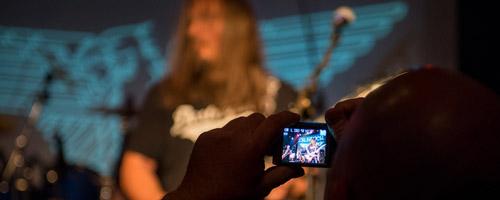 Crusader bei New Wave of British Heavy Metal in Weiher 2015