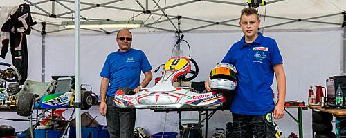 Tim Barbarski auf dem Odenwaldring 2014