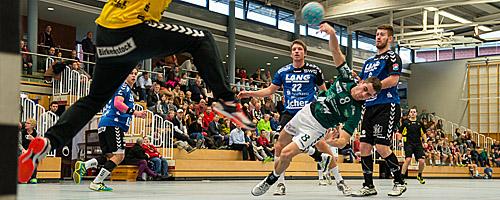 TV Hüttenberg gegen DJK Rimpar Wölfe